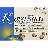 (2 Packs) Kava Kava Muscle Relaxant and Sleep Aid (30ct each)
