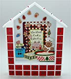 Magnetic Wooden Gingerbread Christmas Advent Calendar