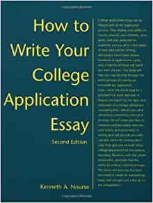 How to write college application essay