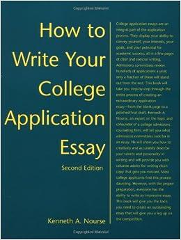College application essay writer