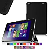 Fintie Lenovo IdeaTab Miix 2 8 Smart Shell Case - Ultra Slim Cover for Lenovo Miix 2 8 Inch Tablet Windows 8.1 - Black