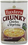 Baxters Chunky Vegetable with Chicken Soup 400 g (Pack of 12)