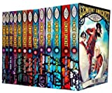 A Series of Unfortunate Events Collection 13 Books Set (The Bad Beginning, The Reptile Room, The Wide Window, The Austere Academy, The Miserable Mill, The Ersatz Elevator, The Vile Village, The Carnivorous Carnival, The Hostile Hospital) Lemony Snicket