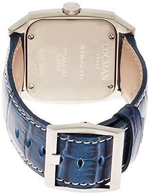 [Rockman] LOCMAN watch stealth video Quartz GMT leather belt men's 0300 030000BLFYLRPSB Men