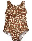 Para bebés de las niñas bollos de - sillita para bebés para el pedazo de un equipo de música y diseño de jirafa de traje de baño, de Color marrón 30437 - 12 meses construcción de madera de: color marrón y tamaño de la jirafa de peluche con proyector
