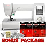 Janome New Home Memory Craft 7700QCP Sewing and Quilting Machine | JNHMC7700QCP
