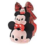 【 ディズニー 公式 】   3サイズ ギフト リボン 付き ツム合わせ 3個 セット TSUM TSUM ミニー ( Disney ぬいぐるみ ツムツム プレゼント クリスマス グッズ )正規品