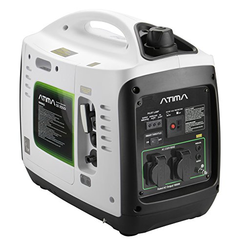 Generatore di corrente inverter benzina 2kw portatile for Generatore di corrente lidl