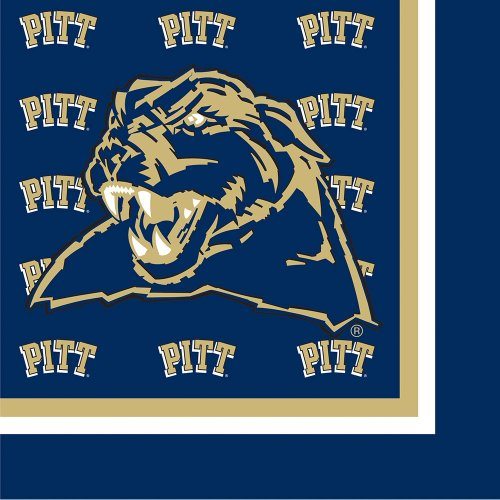 Creative Converting Pittsburgh Panthers Luncheon Napkins (20 Count)