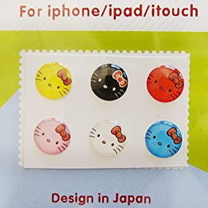 """Amazon.com: """"Home"""" Button Sticker for iphone/ipad/itouch ..."""