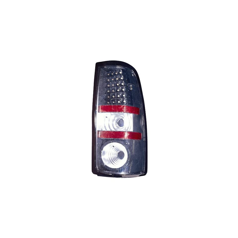 Depo 335 1916PXAS3 Carbon Fiber Fleetside LED Tail Light Assembly