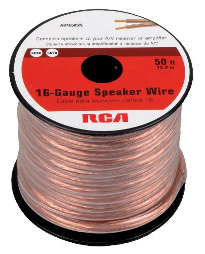 Why Choose The RCA AH1650SR 50 Feet 16-Gauge Speaker Wire