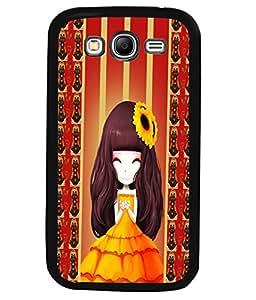 Printvisa 2D Printed Girly Designer back case cover for Samsung Galaxy Grand Neo SM - I9060 - D4345