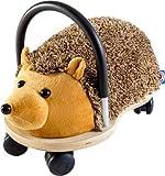 Wheely Bug 51100I Igel, NEUHEIT! kleiner Holzigel mit strapazierfähigem Bezug auf Rollen mit Griff, ultimatives cooles Rutschauto, Spaß Car - Auto für jedes Kind