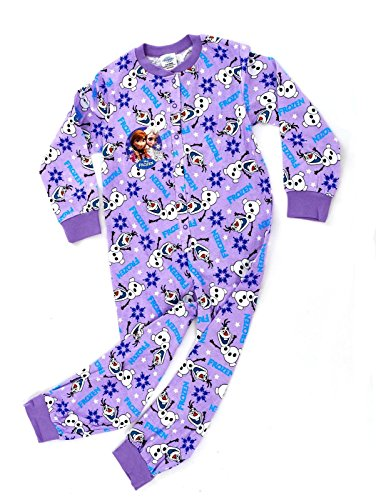 Kids-Girls-Disney-Frozen-Queen-Elsa-Anna-Olaf-Sven-Onesies-Pyjamas-Pjs-Nightwear-Fancy-Dress-Up-Size-UK-1-10-Years