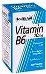 HealthAid Vitamin B6 (Pyridoxine HCl)...