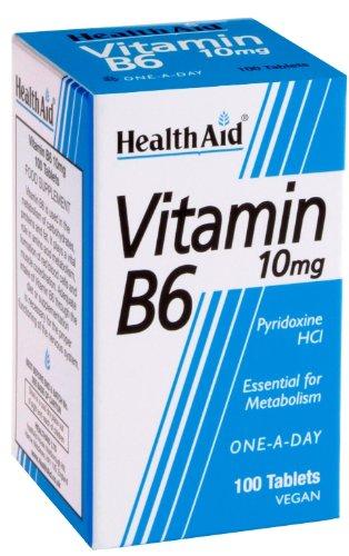 Santé aide la vitamine B6 (pyridoxine HCl) 10mg