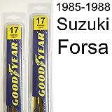 Suzuki Forsa (1985-1988) Wiper Blade Kit - Set Includes 17