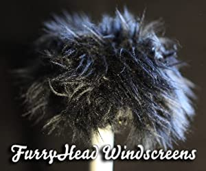 Tascam DR-05 Furryhead Windscreen Black