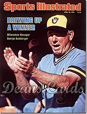 Sports Illustrated April 30 1979 - George Bamberger (Milwaukee Brewers) Milwaukee Brewers (Magazine / Publication) (No Address Label on Front) Dean's Cards 6 - EX/MT