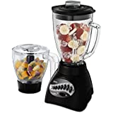 Oster 12-Speed Blender with Food Processor Attachment, Black BLSTCC-BFP-033