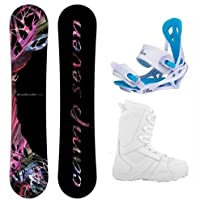 Camp Seven Featherlite Women's Complete Snowboard Package 2015 by Camp Seven