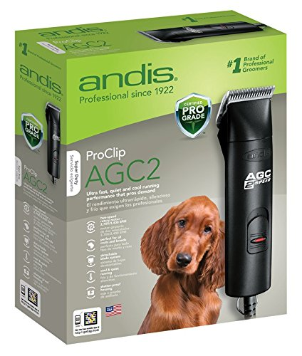 Andis ProClip AGC2 UltraEdge Universal Supper 2-Speed Professional Pet, Dog & Animal Detachable Blade Clipper UltraEdge Size 10 Blade & Maintenance Card Included (Andis Cap Hair Dryer compare prices)