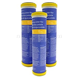 GE SmartWater Undersink Replacement Filter (FXULC), 3-Pack