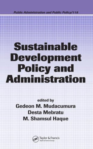 Sustainable Development Policy and Administration (Public...