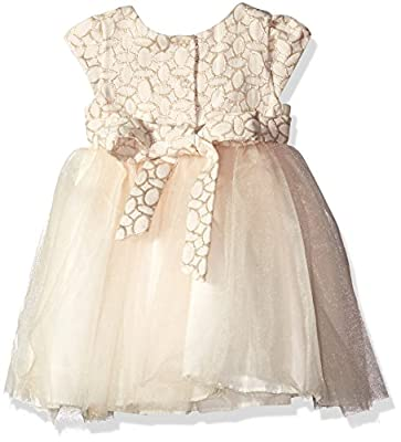 Pippa & Julie Baby Girls' Brocade Party Dress