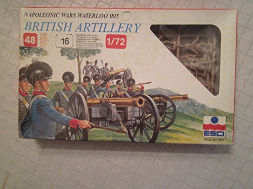 Napolewonic Wars Waterloo 1815 British Artillery - 1