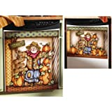 Fall Pumpkin Patch Kitchen Dishwasher Cover Magnet