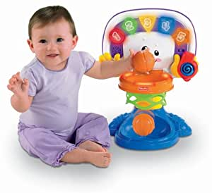 Fisher-Price Laugh and Learn Learning Basketball Activity Center