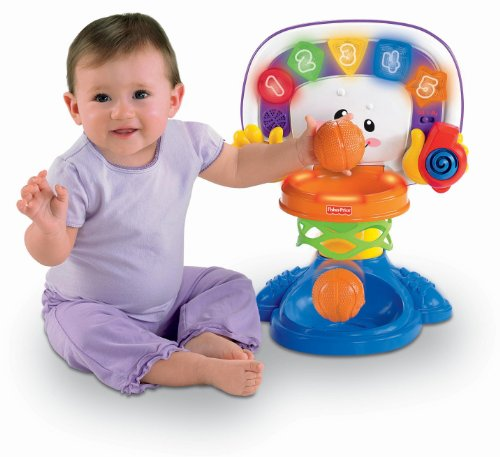 Fisher-Price Laugh and Learn Learning Basketball Activity Center - 1