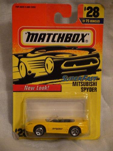 Matchbox Superfast Mitsubishi Spyder #28 of 75 Vehicles - 1