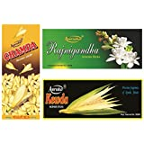 Amrutha Aromatics Assorted Incense Sticks 100G (Pack Of 3 ) - B00T9PAV10