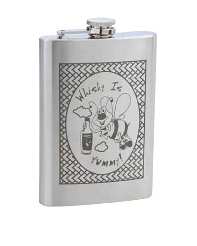 Whisky Bee Stainless Steel Flask