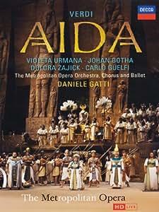 Verdi, Giuseppe - Aida [2 DVDs]: Amazon.de: Violeta Urmana, Johan ...