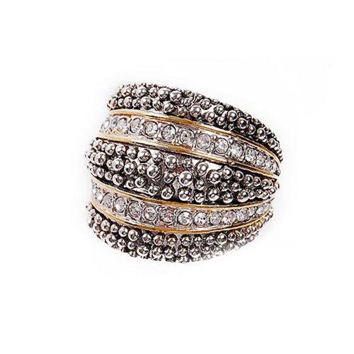 Trendy Designer Texture Ring #026688