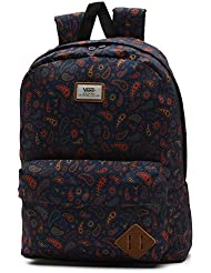 VANS - Vans Women's Backpack - Old Skool II - Black/Red - One Size