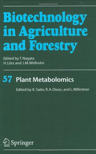 Plant Metabolomics (Biotechnology in Agriculture and Forestry)