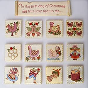 Twelve Days of Christmas Cutter Set by Patchwork Cutters