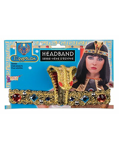 Egyptian Jewelled Snake Cleopatra Headband Costume Accessory