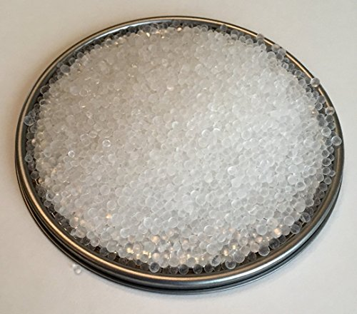 5 Pounds of Industry Standard 2-5 mm White Beaded Silica Gel Dessicant and Dehmidifier