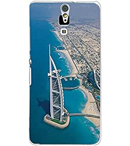 SONY XPERIA C5 BUILDING Back Cover by PRINTSWAG