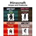 Minecraft: Ninjas and Creatures Audiobook by Billy Miner Narrated by Tristan Wright