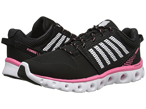 K-Swiss Women's Xlite Athletic Shoe Black/Pink Lemonade/White