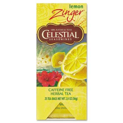 Celestial Seasonings, Lemon Zinger, Fs, 25.00 Bag (Pack Of 6)