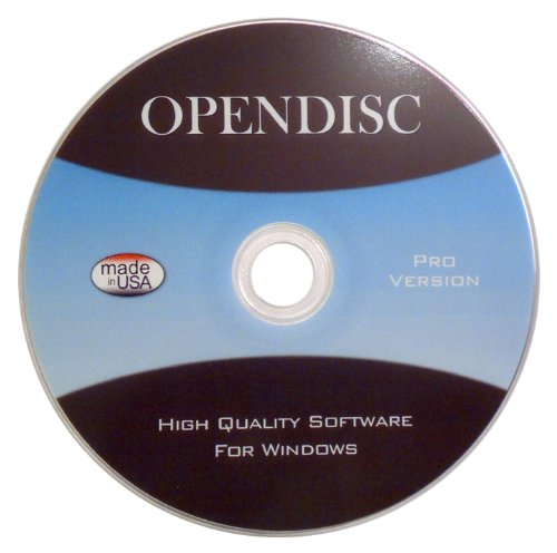 Open Disc - High Quality Software For Windows 2012 Version