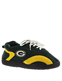 Unisex-Adult Nfl Team Football Slippers - Green Bay Packers